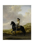 Pieter Schout on Horseback, 1660 Giclee Print by Thomas de Keyser