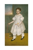 Girl with Kitten, 1836-38 Giclee Print by Joseph Goodhue Chandler
