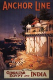 Gibraltar and India I Posters af  Eaglecrown