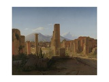 The Forum, 1841 Giclee Print by Christen Schjellerup Kobke