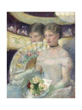 The Loge, 1882 Giclee Print by Mary Cassatt