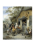 Country Kermis, 1680-1704 Giclee Print by Cornelis Dusart