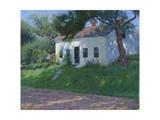 Roadside Cottage, 1889 Giclee Print by Dennis Miller Bunker