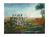 First Landing of Christopher Columbus, C. 1800-05 Giclee Print by Frederick Kemmelmeyer