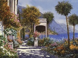 Passaegiata al Lago Prints by Guido Borelli