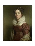 Portrait of Jacoba Vetter, C. 1816-37 of Dutch Woman Giclee Print by Charles Howard Hodges
