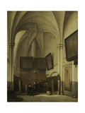 Vestry of the Church of St. Stephen in Nijmegen, 1850-91 Giclee Print by Johannes Bosboom