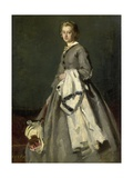 A Young Woman, 1863 Giclee Print by August Allebe
