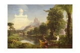 The Voyage of Life: Childhood, 1842 Giclee Print by Thomas Cole