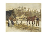 The Rokin, Amsterdam, 1923 Giclee Print by George Hendrik Breitner
