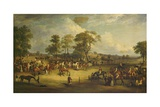 Heaton Park Races, 1829 Giclee Print by John Ferneley