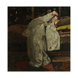Girl in a White Kimono, 1894 Giclee Print by George Hendrik Breitner