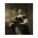 Geertruida Den Dubbelde, Wife of Aert Van Nes, 1668 Giclee Print by Bartholomeus Van Der Helst