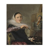 Self-Portrait, C. 1630 Giclee Print by Judith Leyster