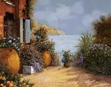 Otri sulla Terrazza Plakaty autor Guido Borelli