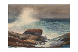 Incoming Tide, Scarboro, Maine, 1883 Giclee Print by Winslow Homer