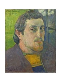 Self-Portrait Dedicated to Carriere, 1888-89 Giclee Print by Paul Gauguin