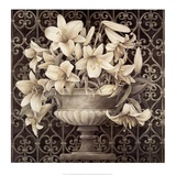 Lilies in Urn Posters by Linda Thompson