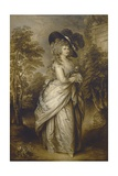 Georgiana, Duchess of Devonshire, 1787-96 Giclee Print by Gainsborough Dupont
