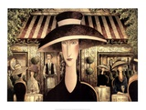 Cafe Emily Prints by Danny McBride