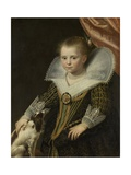 Portrait of a Girl, C. 1623 Giclee Print by Paulus Bor