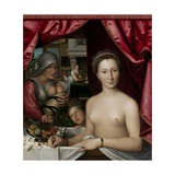 A Lady in Her Bath, 1571 Giclee Print by Francois Clouet