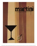 Groovy Martini I Prints by Celeste Peters