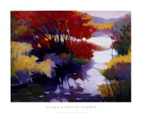 Indian Summer Print by Tadashi Asoma