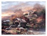 Old Mill Creek Print by James Lee