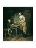 The Fisherman's Children, by Bernardus Johannes Blommers, 1868 Giclee Print by Bernardus Johannes Blommers