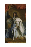 Portrait of Louis XIV, 1701 Giclee Print by Hyacinthe Rigaud