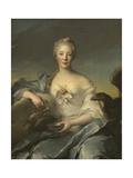 Madame Le Fevre De Caumartin as Hebe, 1753 Giclee Print by Jean-Marc Nattier