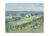 Valley of the Seine, from the Hills of Giverny, 1892 Giclee Print by Theodore Robinson