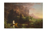 The Voyage of Life: Youth, 1842 Giclee Print by Thomas Cole