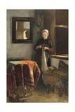 The Sunny Nook, Ca. 1855-1899 Giclee Print by Christoffel Bisschop