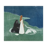 Two Women on the Beach, 1898 Giclee Print by Edvard Munch