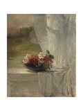 Flowers on a Window Ledge, 1861 Giclee Print by John La Farge