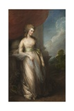 Georgiana, Duchess of Devonshire, 1783 Giclee Print by Thomas Gainsborough