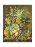 Still Life with Fruit, 1808 Giclee Print by Jacobus Linthorst