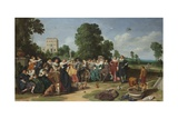 The Fete Champetre, 1627 Giclee Print by Dirck Hals