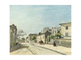 Rue Notre-Dame, Paris, 1866 Giclee Print by Johan Barthold Jongkind