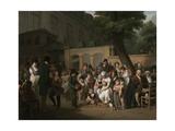 Entrance to the Jardin Turc, 1812 Giclee Print by Louis-Leopold Boilly