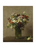 Flowers from Normandy, 1887 Giclee Print by Henri Fantin-Latour