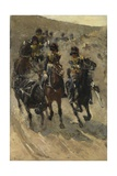 The Yellow Riders, 1885-86 Giclee Print by George Hendrik Breitner