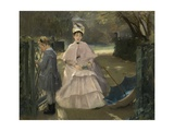 Nanny and Child, 1877-78 Giclee Print by Eva Gonzales