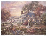 Hill Top Farms Prints by Carl Valente