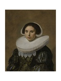 Portrait of a Woman, 1635 Giclee Print by Frans Hals