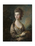 The Honorable Mrs. Thomas Graham, 1775-77 Giclee Print by Thomas Gainsborough