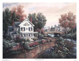 Vintage Island Home Prints by Carl Valente