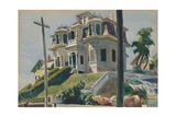 Haskell's House, 1924 Giclee Print by Edward Hopper
